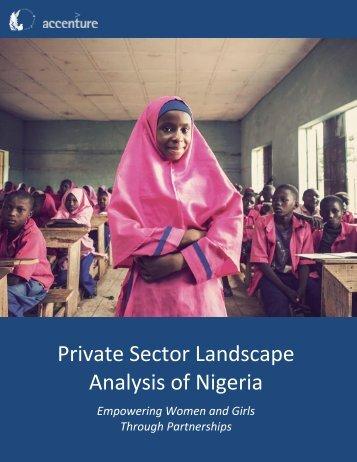 Analysis of Nigeria
