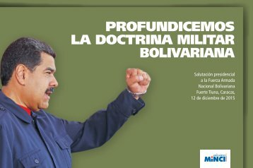PROFUNDICEMOS LA DOCTRINA MILITAR BOLIVARIANA