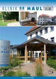 Patienteninformation - Klinik Dr. Maul Ingolstadt