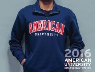 American University: 2016 Undergraduate Viewbook