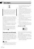 Pioneer FH-P80BT - User manual - néerlandais - Page 6