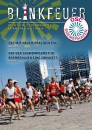 Unsere Seestadt – mit Energie in die Zukunft - OSC Bremerhaven
