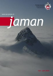 Après-séance : Surprise - Club Alpin Suisse Section Jaman