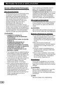 Pioneer SPH-DA01 - Addendum - norvégien - Page 6
