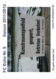 FC Echo Seite 6 - FC Aldekerk 28/52 eV