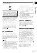 Pioneer AVH-P3100DVD - User manual - norvégien - Page 7