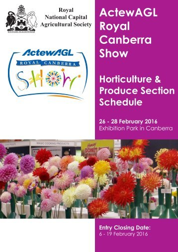 ActewAGL Royal Canberra Show