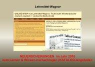 Technik lernen/ Wissen-nachschlagen (ebooks)