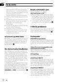 Pioneer AVH-P4100DVD - User manual - norvégien - Page 6