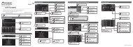 Pioneer AVH-P4100DVD - Installation manual - allemand, anglais, espagnol, français