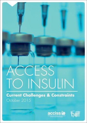 Access to insulin