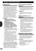 Pioneer SPH-DA02 - User manual - danois, finnois, suédois - Page 6