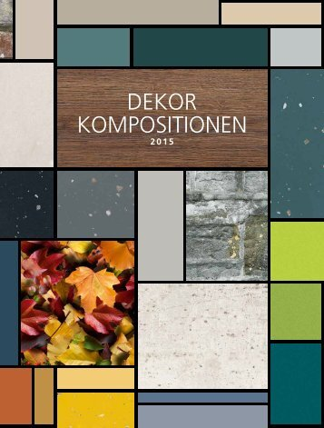 Westag & Getalit Dekorkompositionen 2015