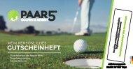 Golf Gutscheinheft NRW 1-2016 von paar5