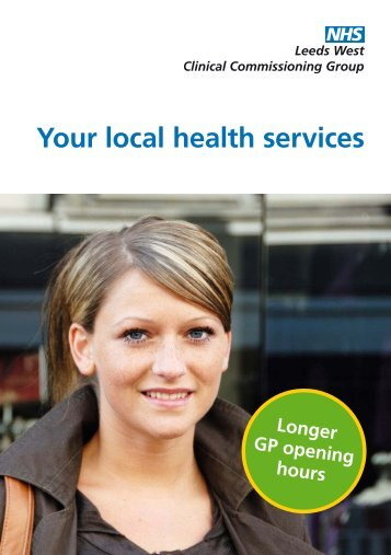 Your local health services