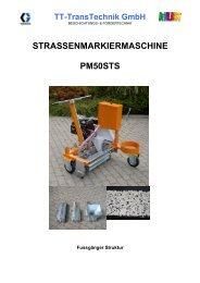 STRASSENMARKIERMASCHINE PM50STS - TT-TransTechnik GmbH