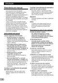 Pioneer AVIC-HD3-II - Software manual - portugais - Page 6