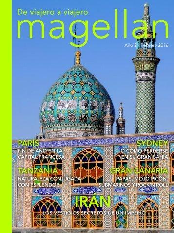 Revista de viajes Magellan - Febrero 2016