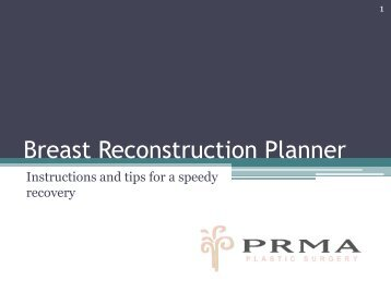 Breast Reconstruction Planner