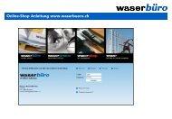 Online-Shop Anleitung www.waserbuero.