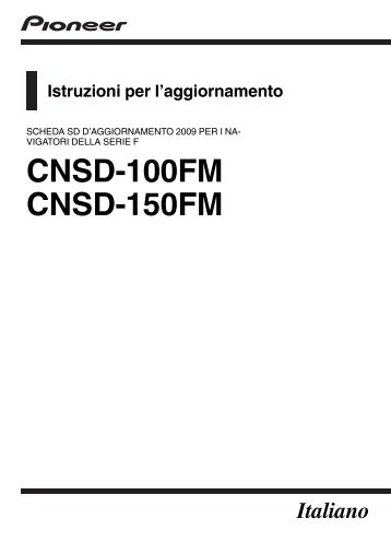 Pioneer CNSD-150FM - User manual - italien