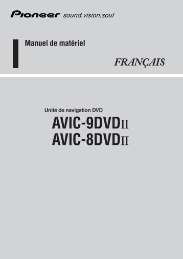 Pioneer AVIC-8DVD-II - User manual - français