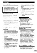 Pioneer AVIC-F310BT - User manual - portugais - Page 7