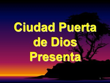 Conociendo al Espíritu Santo 31 - Ciudad Puerta de Dios