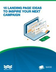15 LANDING PAGE IDEAS TO INSPIRE YOUR NEXT CAMPAIGN