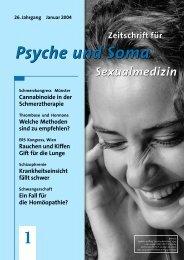 Psyche und Soma Psyche und Soma - Medical Tribune
