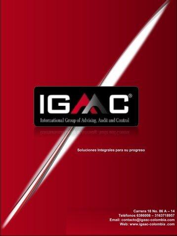 Web www.igaac-colombia .com