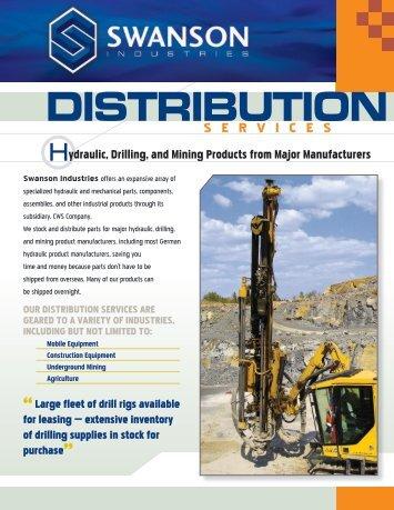 DISTRIBUTION - Swanson Industries Inc.