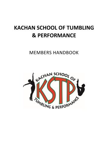 KSTP Club Handbook 2016