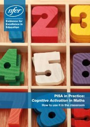 PISA in Practice Cognitive Activation in Maths