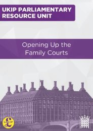 Opening Up the Family Courts By Duncan Simpson
