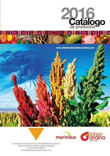 Catalogo Latino Andina