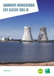 waarom kernenergie een slecht idee is