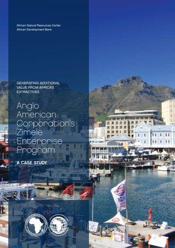 Anglo American Corporation's Zimele Enterprise Program