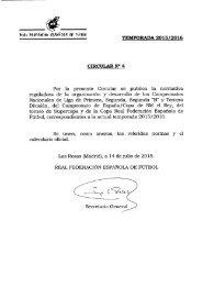 CALENDARIO TEMPORADA 2015/2016