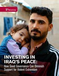 INVESTING IN IRAQ'S PEACE