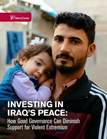 INVESTING IN IRAQ'S PEACE