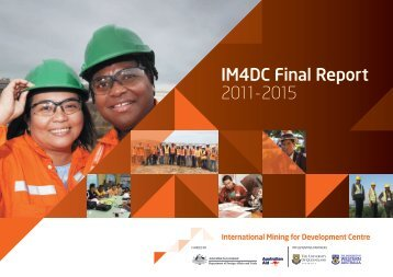 IM4DC Final Report 2011-2015