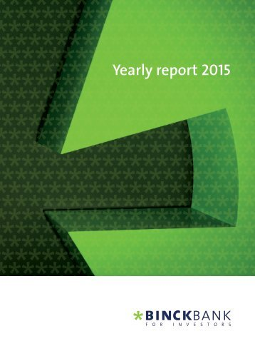 Yearly report 2015