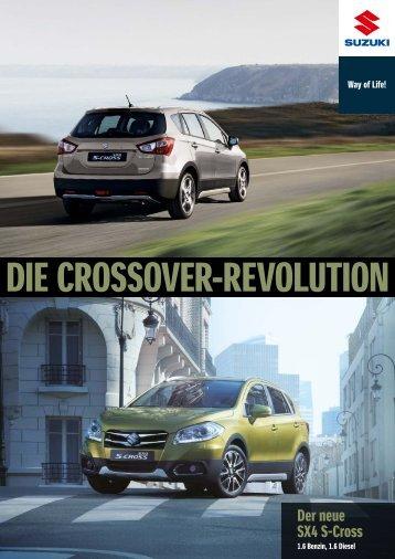 Suzuki S-Cross Modellprospekt