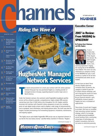 HughesNet Managed Network Services - Hughes Network Systems ...