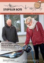 Stiepeler Bote 236 - Februar 2016
