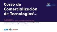 Curso de Comercialización de Tecnologías'2016