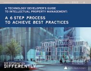 A 6 STEP PROCESS TO ACHIEVE BEST PRACTICES