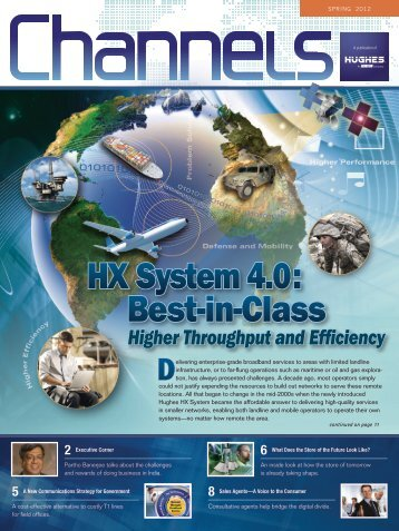 Spring 2012 - HX System 4.0: Best-in-Class - Hughes Europe