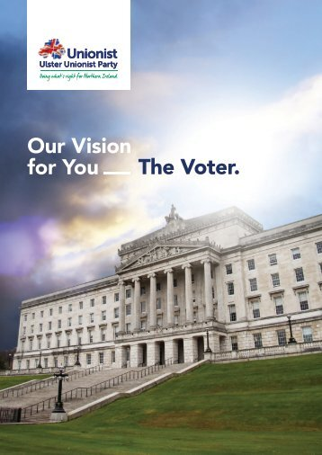 Our Vision for You The Voter